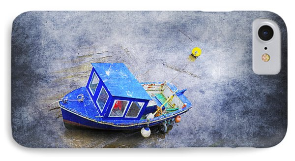 Small Fisherman Boat Phone Case by Svetlana Sewell