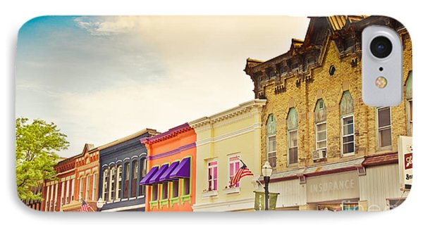 Small Town Colors Phone Case by Christina Klausen