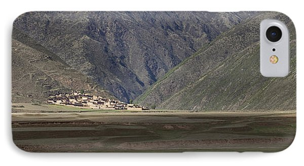 Small Village In A Mountain Valley IPhone Case