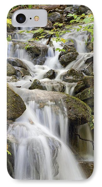 Small Waterfalls And Brook West Bolton Phone Case by David Chapman
