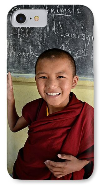 Smiley Monk IPhone Case