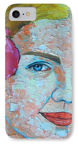 Smiling Girl Phone Case by Ana Maria Edulescu
