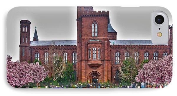 Smithsonian Castle IPhone Case by Jack Schultz