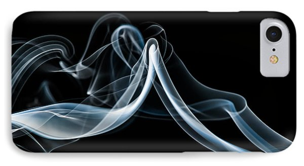 Smoke-1 IPhone Case by Larry Carr