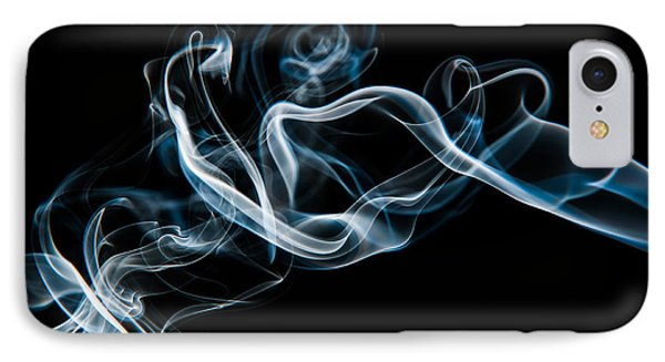 Smoke-2 IPhone Case by Larry Carr