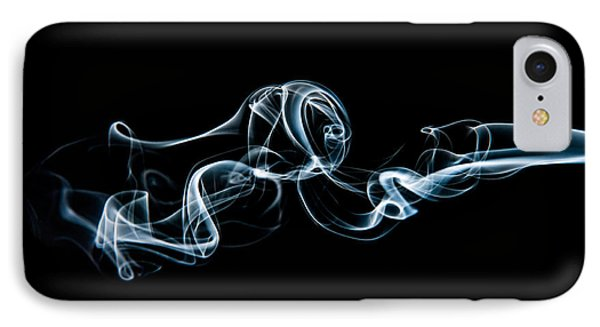 Smoke-3 IPhone Case by Larry Carr