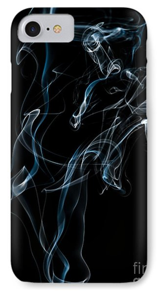 Smoke-6 IPhone Case by Larry Carr