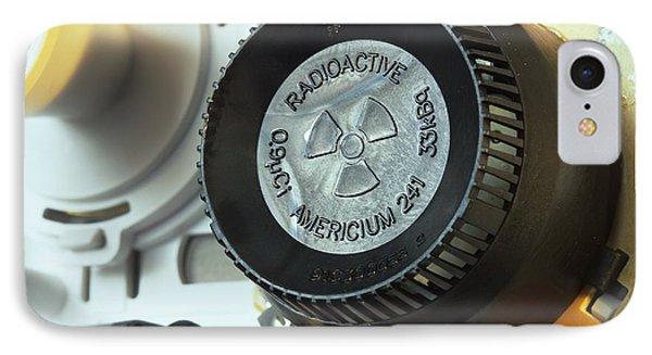 Smoke Detector Radiation Source Phone Case by Martin Bond