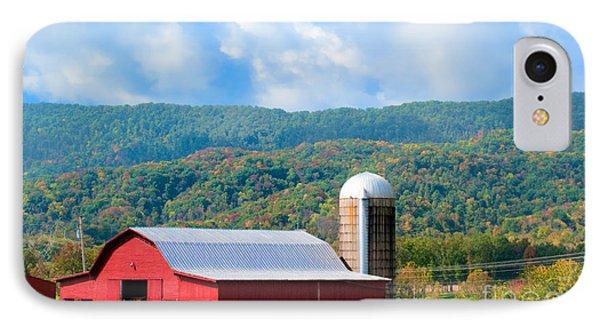 Smokie Mountain Barn Phone Case by Betty LaRue