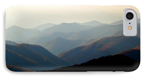 Smoky Mountain Overlook Great Smoky Mountains Phone Case by Rich Franco