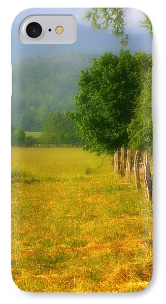 Smoky Mountains Cades Cove IPhone Case by Cindy Haggerty