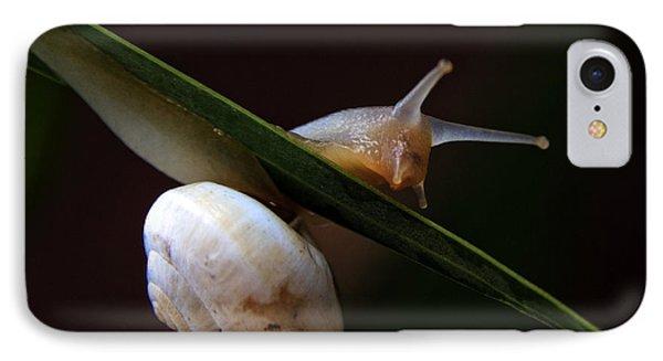 Snail Phone Case by Stelios Kleanthous