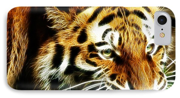 Snarling Tiger IPhone Case
