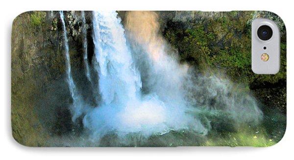 Snoqualmie Falls 2 IPhone Case by John Krakora