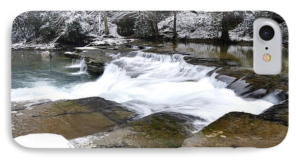Snow Along The Back Fork Of Elk River Phone Case by Thomas R Fletcher