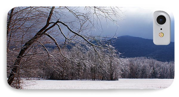 IPhone Case featuring the photograph Snow And Ice by Paul Mashburn