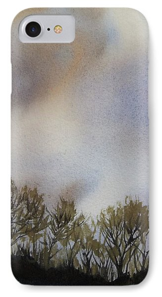 Snow Coming IPhone Case by Becky Chappell