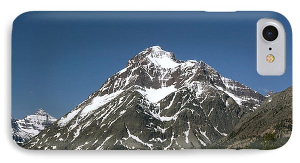 Snow Covered Mountain Phone Case by Amanda Kiplinger