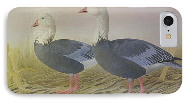 Snow Geese Phone Case by Alan Suliber