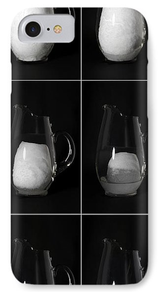 Snow Melting Phone Case by Ted Kinsman