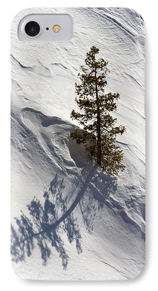 Snow Shadow IPhone Case