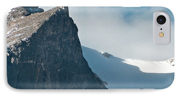 IPhone Case featuring the photograph Snowy Flatirons by Colleen Coccia