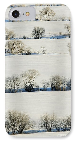 Snowy Landscape Phone Case by Jeremy Woodhouse