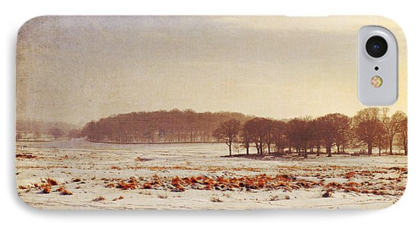 Snowy Landscape IPhone Case