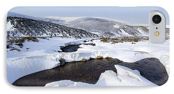 Snowy Landscape, Scotland Phone Case by Duncan Shaw