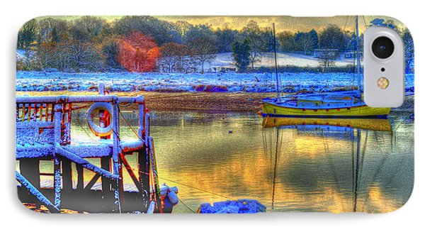 Snowy River Sunset Phone Case by Jane James