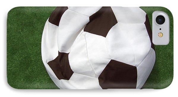 Soccer Ball Seat Cushion Phone Case by Matthias Hauser