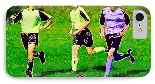 Soccer Phone Case by Stephen Younts
