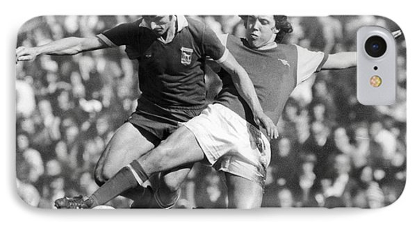 Soccer Tackle, 1976 Phone Case by Granger