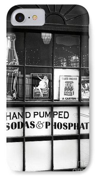 Soda And Phosphates IPhone Case by John Rizzuto