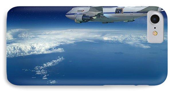 Sofia Airborne Observatory In Flight Phone Case by Detlev Van Ravenswaay