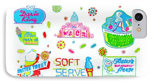Soft Serve IPhone Case by Beth Saffer