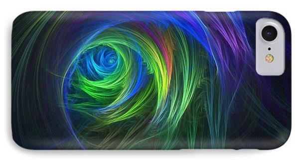 Soft Swirls Phone Case by Lyle Hatch