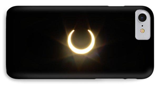 Solar Eclipse 5 Phone Case by Mitch Shindelbower