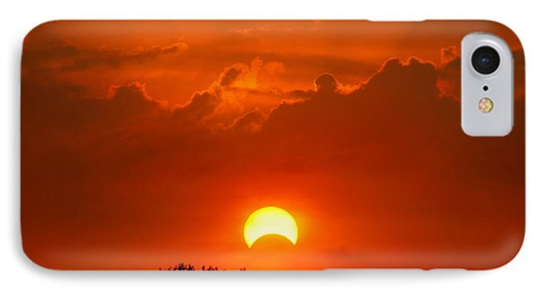 Solar Eclipse Phone Case by Bill Pevlor