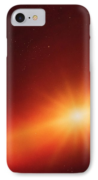 Solar System Formation Phone Case by Detlev Van Ravenswaay