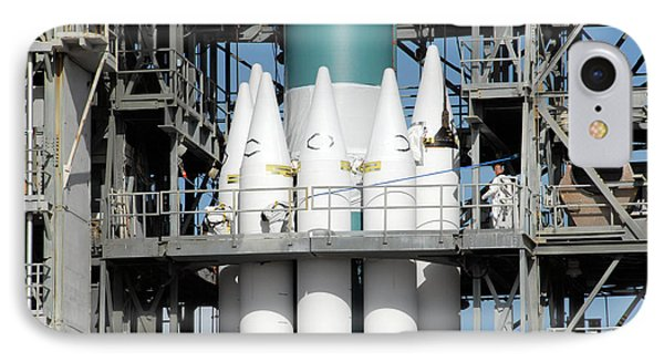 Solid Rocket Boosters Are Attached Phone Case by Stocktrek Images
