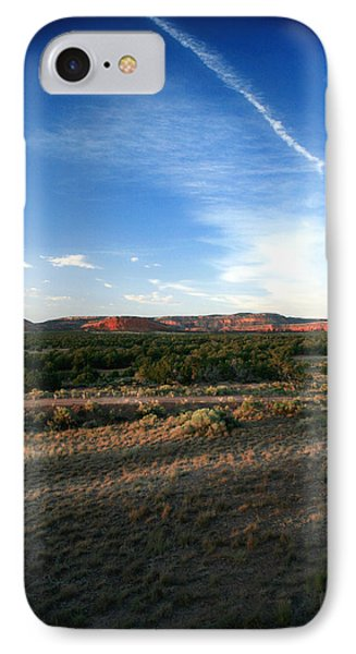 IPhone Case featuring the photograph Somewhere Off The Interstate In New Mexico by Lon Casler Bixby