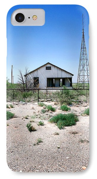 IPhone Case featuring the photograph Somewhere On The Old Pecos Highway Number 5 by Lon Casler Bixby