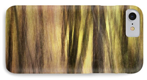Sourwoods In Autumn Abstract Phone Case by Rob Travis