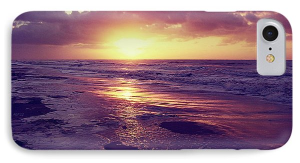 IPhone Case featuring the photograph South Carolina Sunrise by Phil Perkins