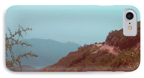 Southern California Mountains IPhone Case