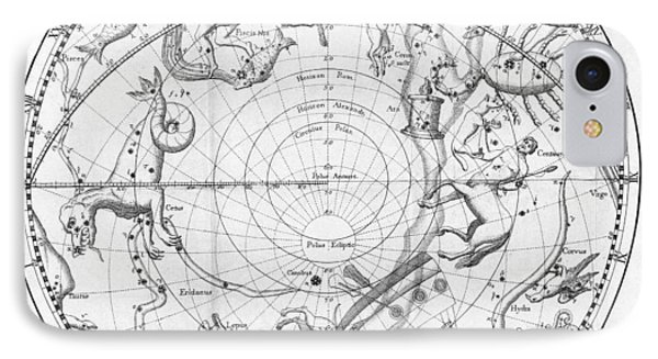 Southern Celestial Map Phone Case by Science, Industry & Business Librarynew York Public Library