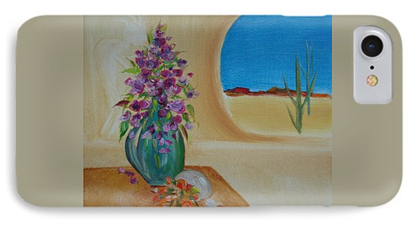 IPhone Case featuring the painting Southwestern 3 by Judith Rhue