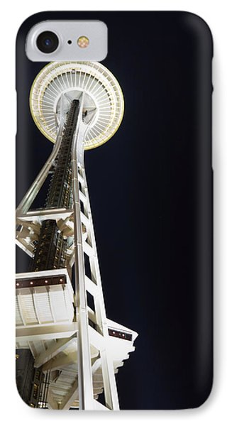 Space Needle Phone Case by Heidi Smith