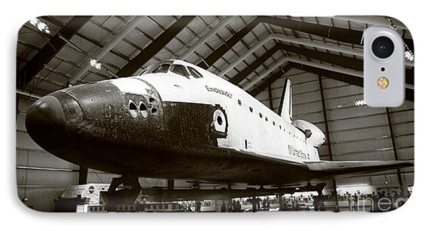 Space Shuttle Endeavour Phone Case by Nina Prommer